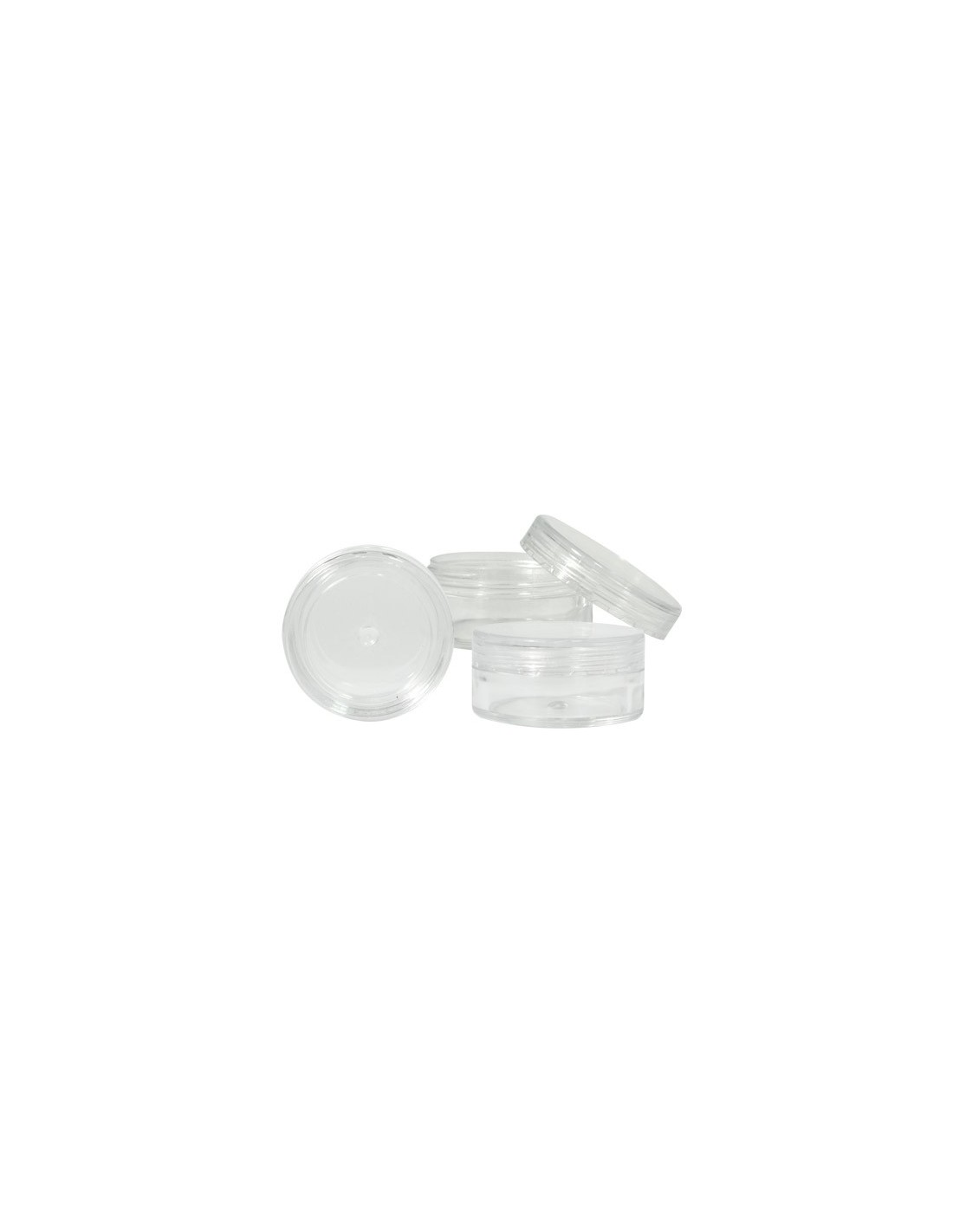 Acrylic container clear 10ml