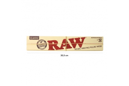 Raw Supernatural Huge 30.5 cm (20 leaves)