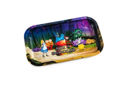 HQ Metal rolling tray - Alice Forest - 27x16cm