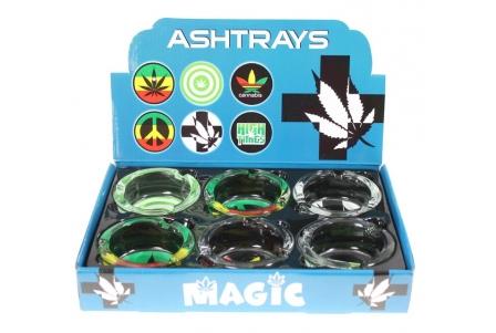Ashtray- Leafy 2 (Display of 6)