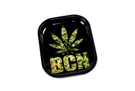 HQ Metal rolling tray - Leaf BCN - 18x14cm