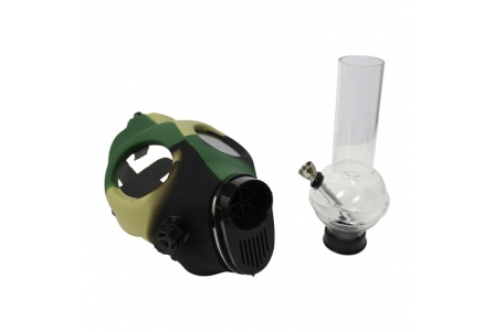 Camouflage Mask with Pipe