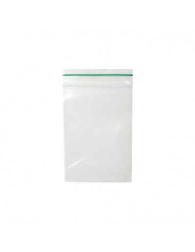 ZipLock Baggies Green Line 70 x 100 mm - 0,06 mm - 1000 units