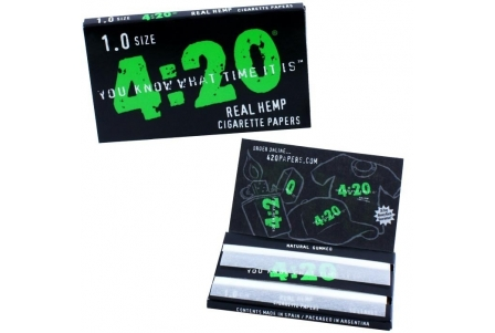 4:20 Hemp Papers 1.0 SIZE