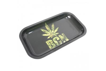 HQ Metal rolling tray - Barcelona Leaf - 27x16cm