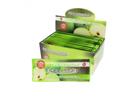 'Dragonfly Regular Size 12pcs - Green Apple