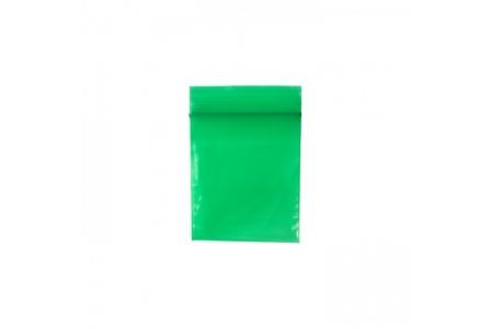Colored ZipLock Baggies 55 x 65 mm - Green - 1000 units