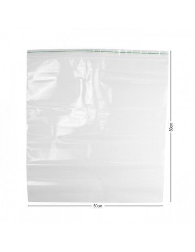ZipLock Baggies Green Line 500 x 500 mm - 0,12 mm - 20 units