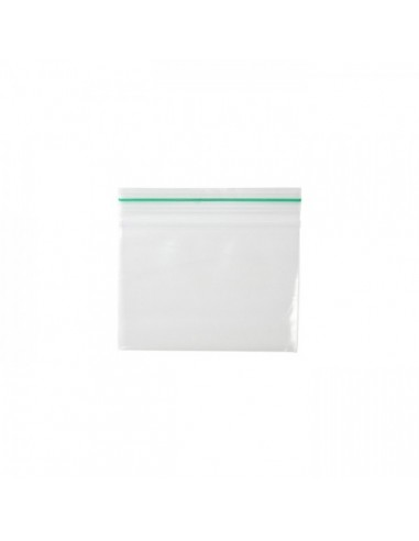 ZipLock Baggies Green Line 80 x 60 mm  - 0,06 mm - 1000 units