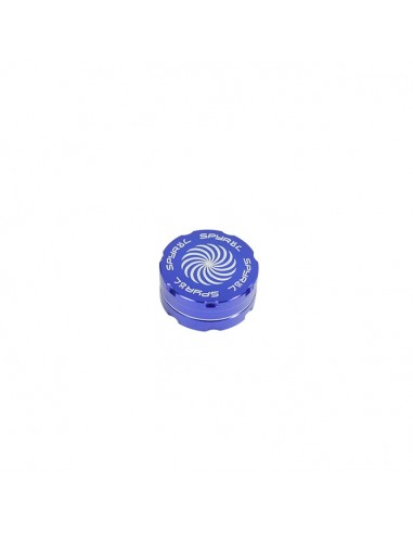 2 Part Spyräl Grinder 17 x 40mm (1.5) - BLUE