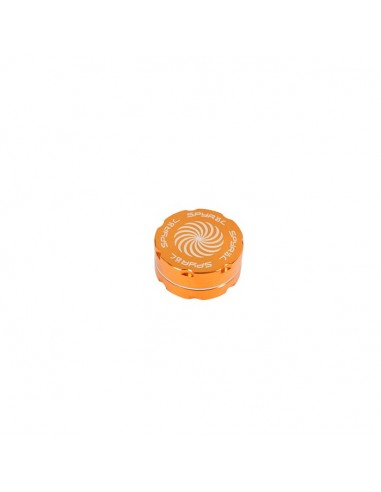 2 Part Spyräl Grinder 17 x 40mm (1.5) - ORANGE