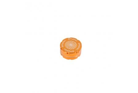 2 Part Spyräl Grinder 17 x 40mm (1.5) - Orange