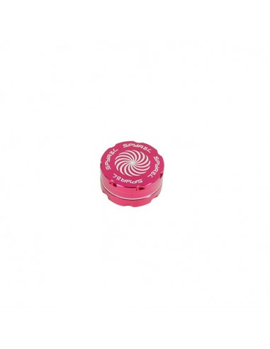 2 Part Spyräl Grinder 17 x 40mm (1.5) - PINK