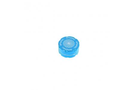 2 Part Spyräl Grinder 17 x 40mm (1.5) - Teal (Light Blue)