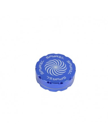 2 Part Spyräl Grinder 17 x 62mm (2.5) - BLUE