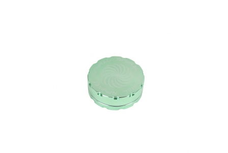 2 Part Spyräl Grinder 17 x 62mm (2.5) - Green
