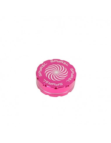 2 Part Spyräl Grinder 17 x 62mm (2.5) - PINK