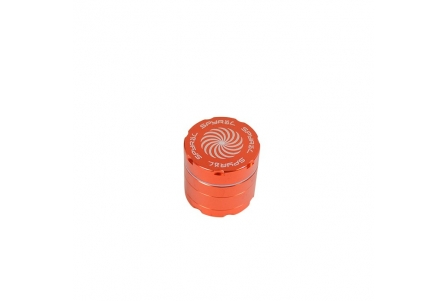 4 Part Spyräl Grinder 43 x 40mm (1.5) - Orange
