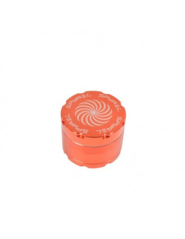4 Part Spyräl Grinder 43 x 55mm (2.2) - Orange