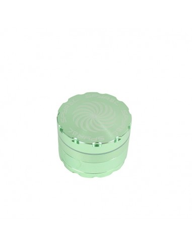 4 Part Spyräl Grinder 43 x 62mm (2.5) - Green