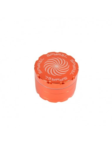 4 Part Spyräl Grinder 43 x 62mm (2.5) - Orange