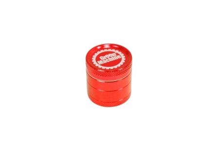 4 Part Green Machine Grinder 30mm - Red