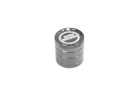 4 Part Green Machine Grinder 30mm - Dark Silver (G. Black)