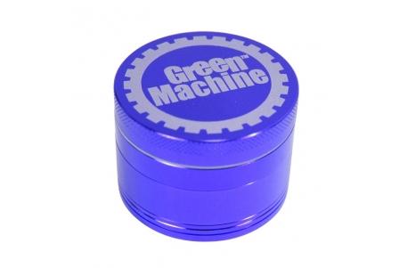 4 Part Green Machine Grinder 55mm - Blue