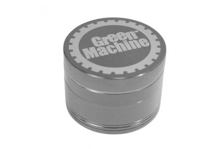 4 Part Green Machine Grinder 55mm - Dark Silver (G. Black)