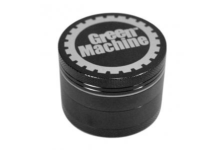 4 Part Green Machine Grinder 62mm - BLACK