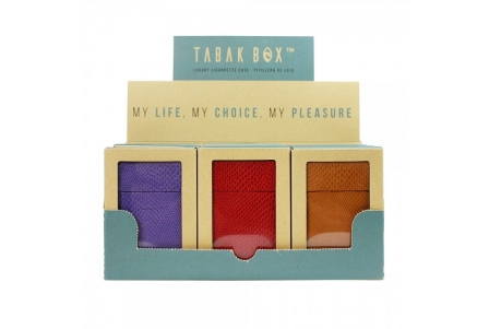 Tabak Box ® Cigarette Case Collection 1 - Display of 12