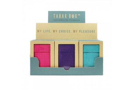 Tabak Box ® Cigarette Case Collection 3 - Display of 12