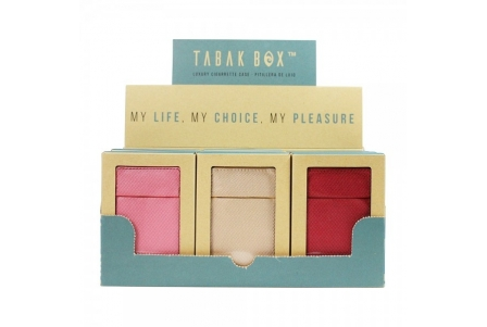 Tabak Box ® Cigarette Case Collection 4 - Display of 12