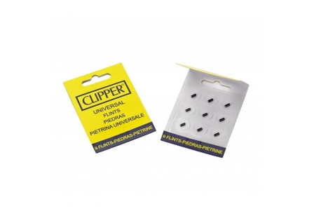 CLIPPER Stones for Lighter (display of 24 bags with 9 stones)