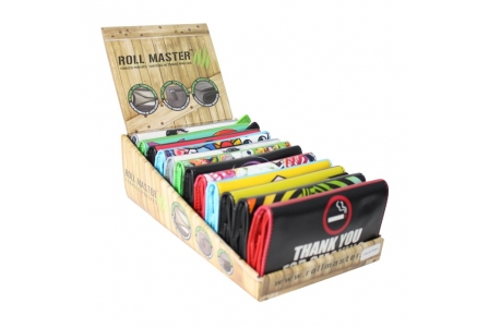 Roll Master ® Tobacco Pouch Collection 4 - (King Size) - Display of 12