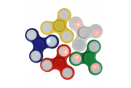 Classic Fidget Spinner LED (Assorted Colours)