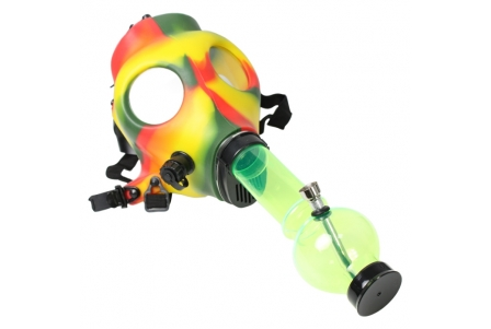 Rasta Mask with Pipe