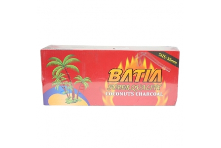 Batia Coconut Donut Charcoal - 35mm (120pcs) - Quicklight
