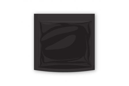 20 Black One Ounce Dispensary Bags (19.5x17.8x3.98cm)