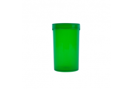 Pop Top Container Green - 19 drams - 80ml (Pack of 50)