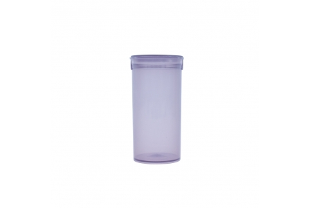 Pop Top Container Transparent Grey - 13 drams - 50ml (Pack of 50)