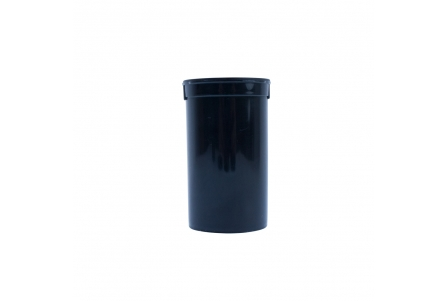 Pop Top Container Black - 19 drams - 80ml (Pack of 50)