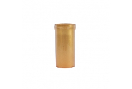Pop Top Container Gold - 13 drams - 50ml (Pack of 50)