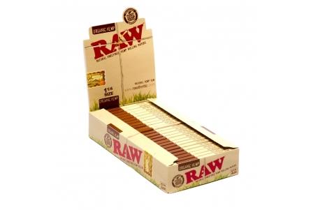 Raw Organic 1 1/4 (24 booklets)