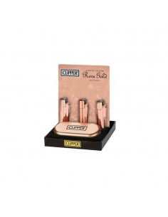 CLIPPER Metal Rose Gold (display of 12)