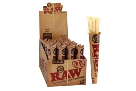 Raw Cones 1/4 (32 units of 6 cones)