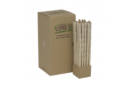 CONES BULK Organic Hemp 20mm filter (brown, 109mm, 1000pcs)