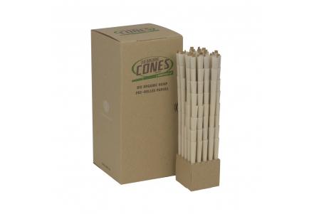 CONES BULK Organic Hemp 20mm filter (brown, 109mm, 1000pcs)