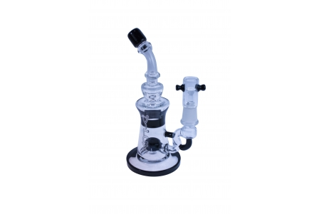D-Lux BHO Pipe 11 - Black - 19 cm