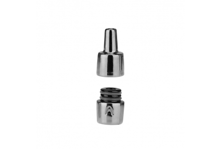 Original Atmos Tyga X Shine Kiln Ra Ceramic Housing/Mouthpiece - Silver